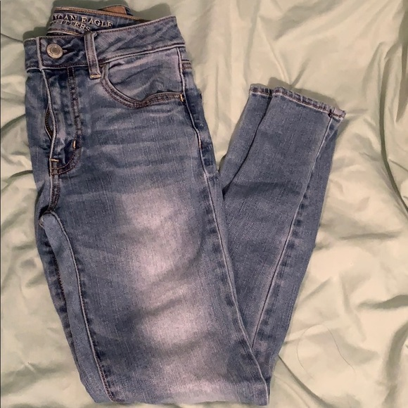 American Eagle Outfitters Pants - AEO high-rise jeggings.